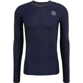 Skins Series-3 Compression LS Top Men, navy blue